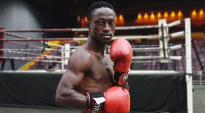 "President Buhari Congratulates New Boxing Champion, Ridwan ""The Scorpion'' Oyekola"